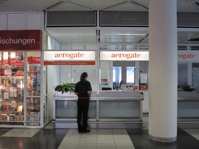 Flughafen München Aerogate Schalter