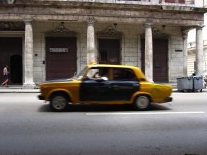 kubanisches Taxi