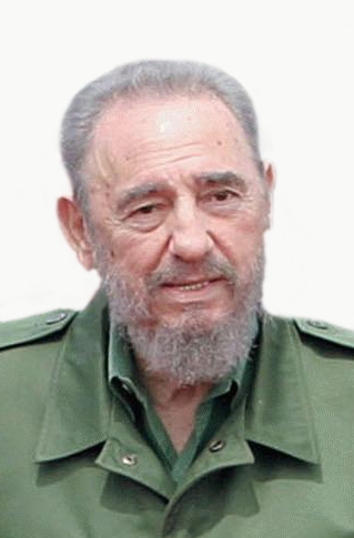 Ehemaliger kubanischer Revolutionsführer, comandante en jefe