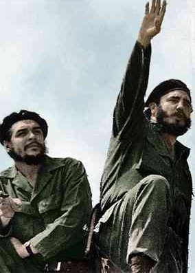 Genossen im Kampf gegen den Imperialismus. Che und Fidel in Kuba