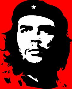 Weltbekannte Grafik von Che Guevara dem Revolutionär